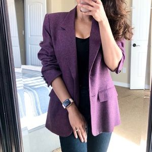 Vintage PENDLETON Virgin Wool Structured Blazer